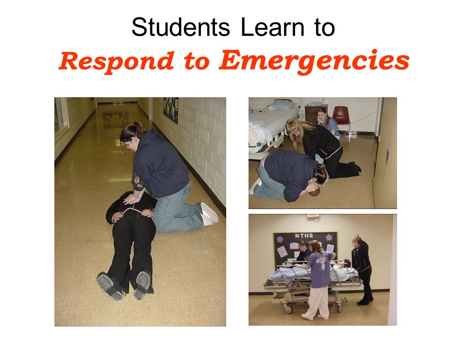 Students Learn to Respond to Emergencies