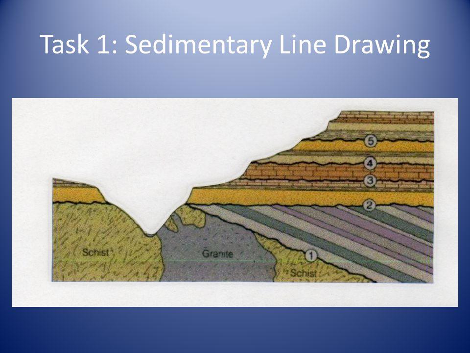Task 1: Sedimentary Line Drawing