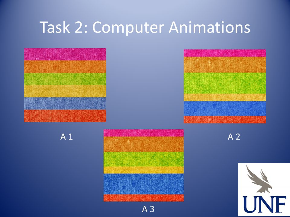 Task 2: Computer Animations A 1A 2 A 3