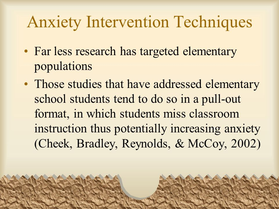 Baseline Data Summary 18 out of 38 fourth graders self-rated on the pre-assessment that they experience moderately high , high , and extremely high levels of test anxiety