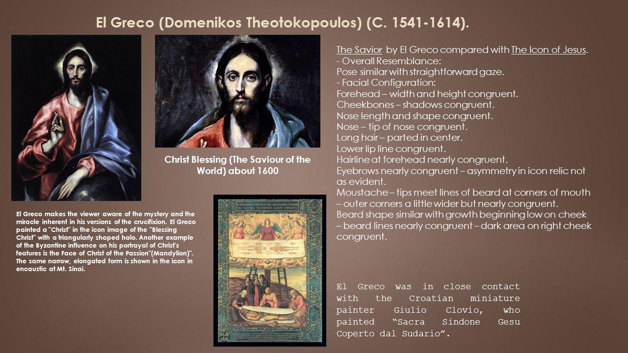 El Greco (Domenikos Theotokopoulos) (C.1541-1614).