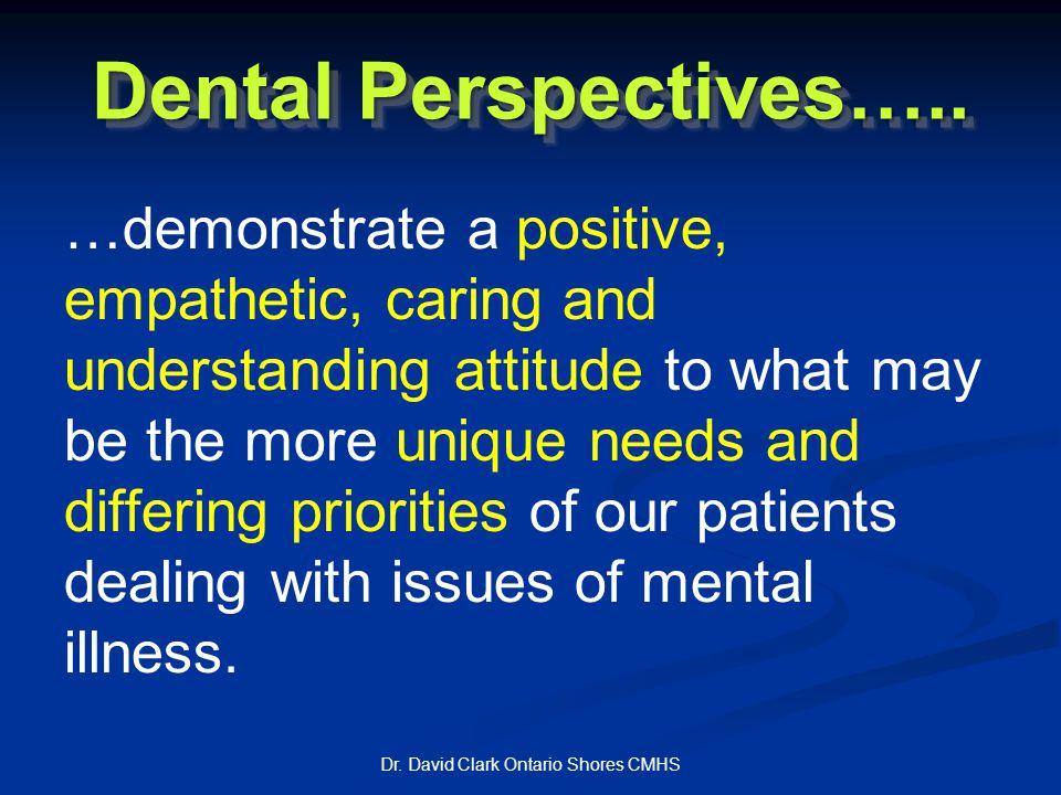 Dental Perspectives…..