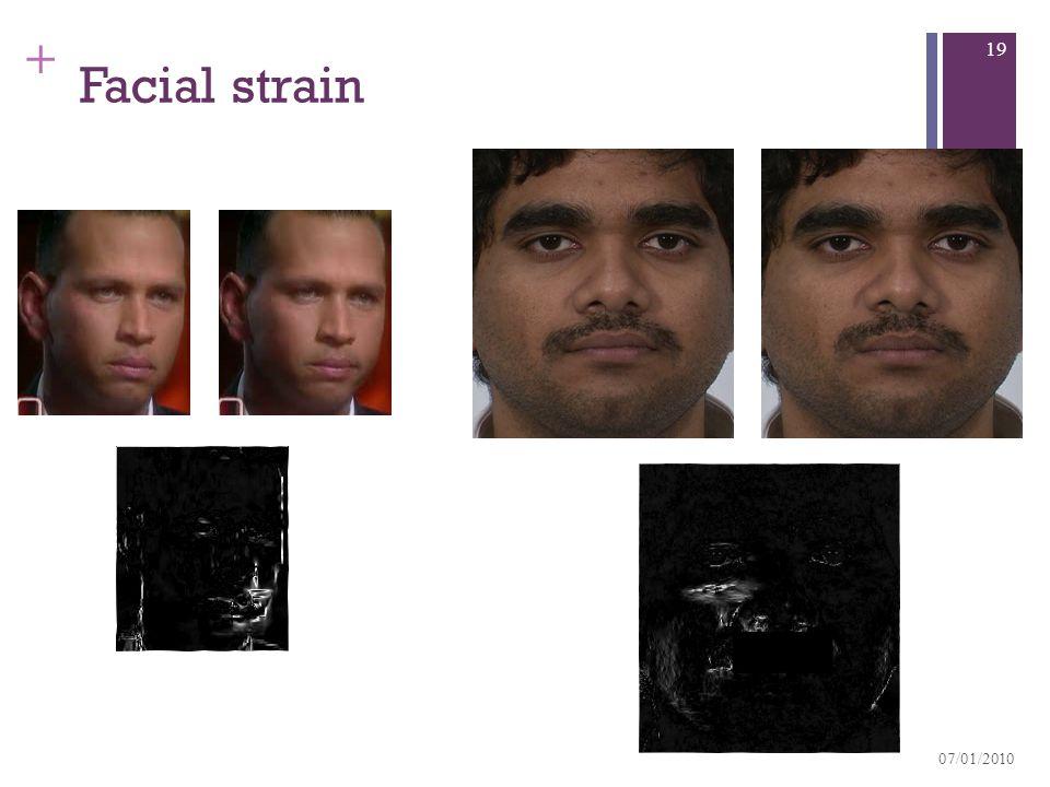 + Facial strain 07/01/2010 19