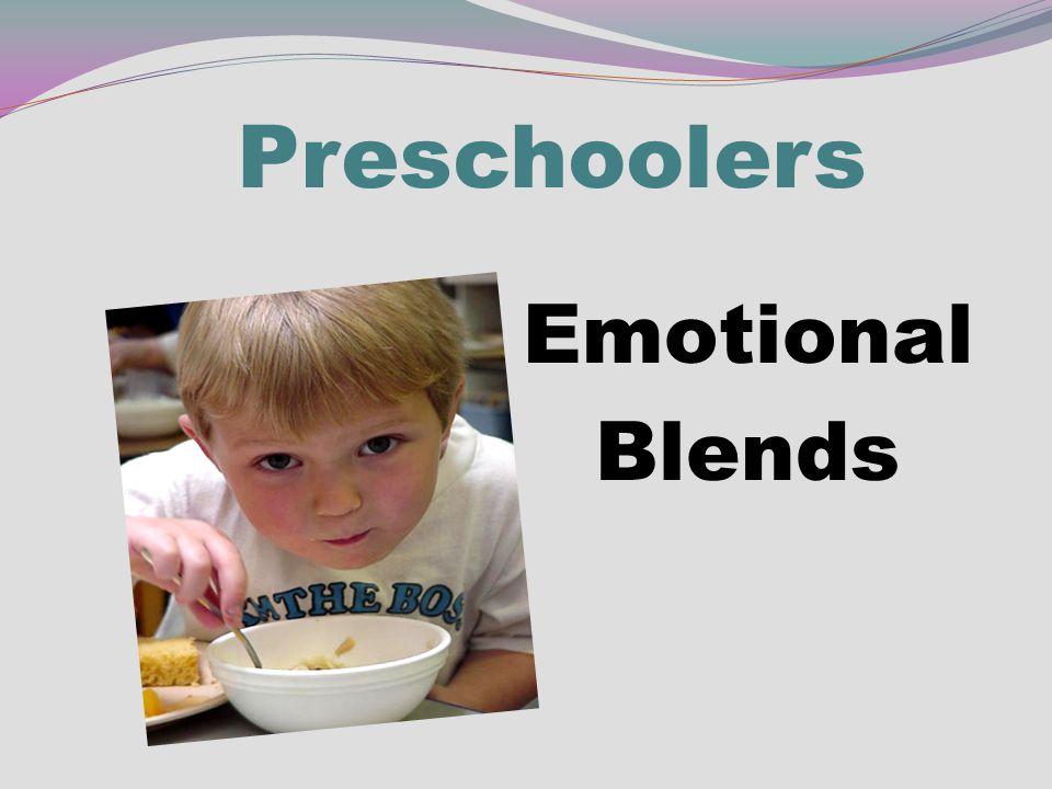 Preschoolers Emotional Blends