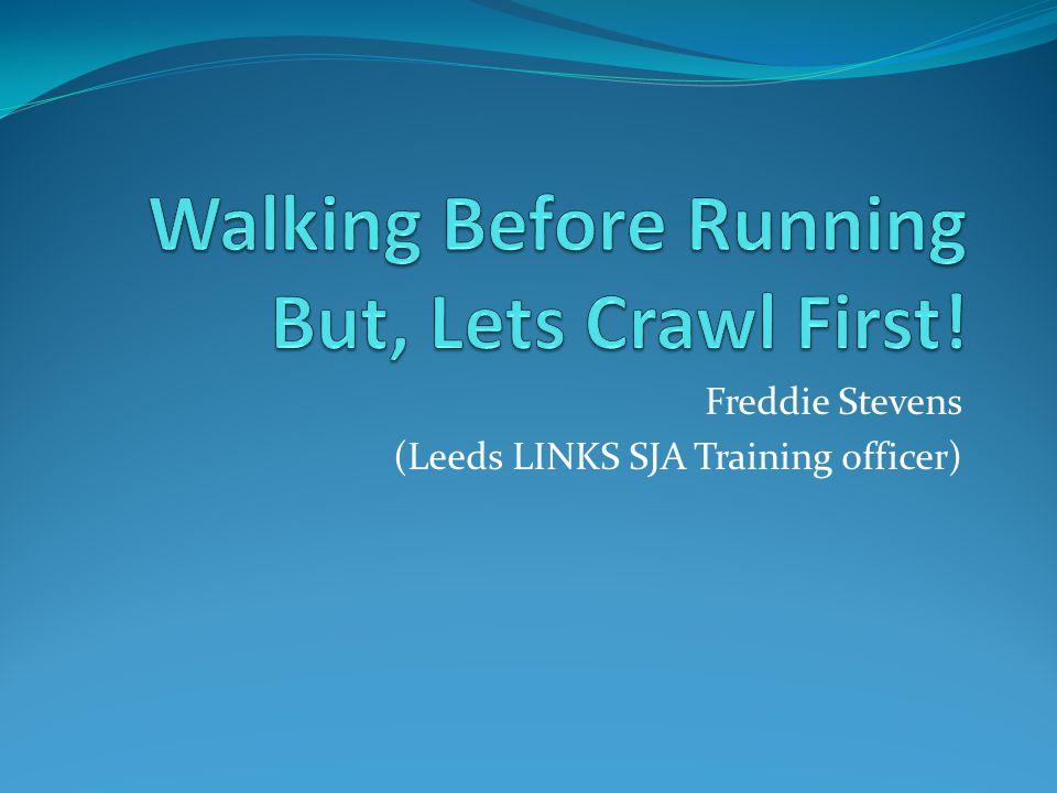 Freddie Stevens (Leeds LINKS SJA Training officer)