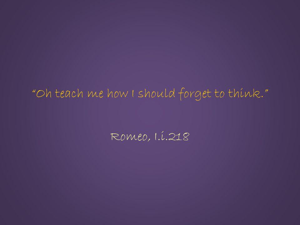 Romeo, I.i.218