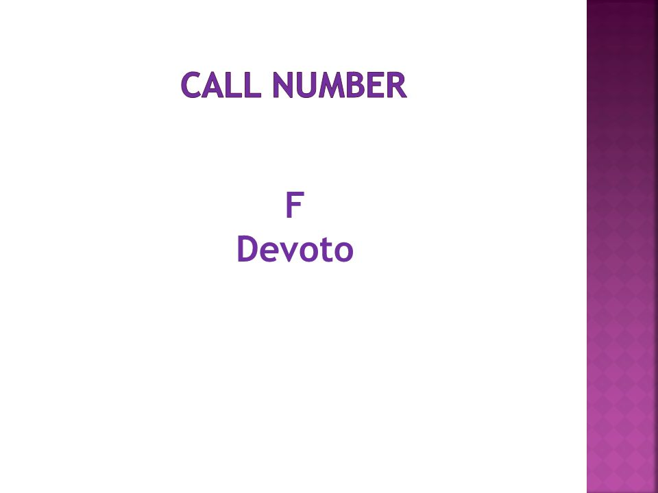 F Devoto