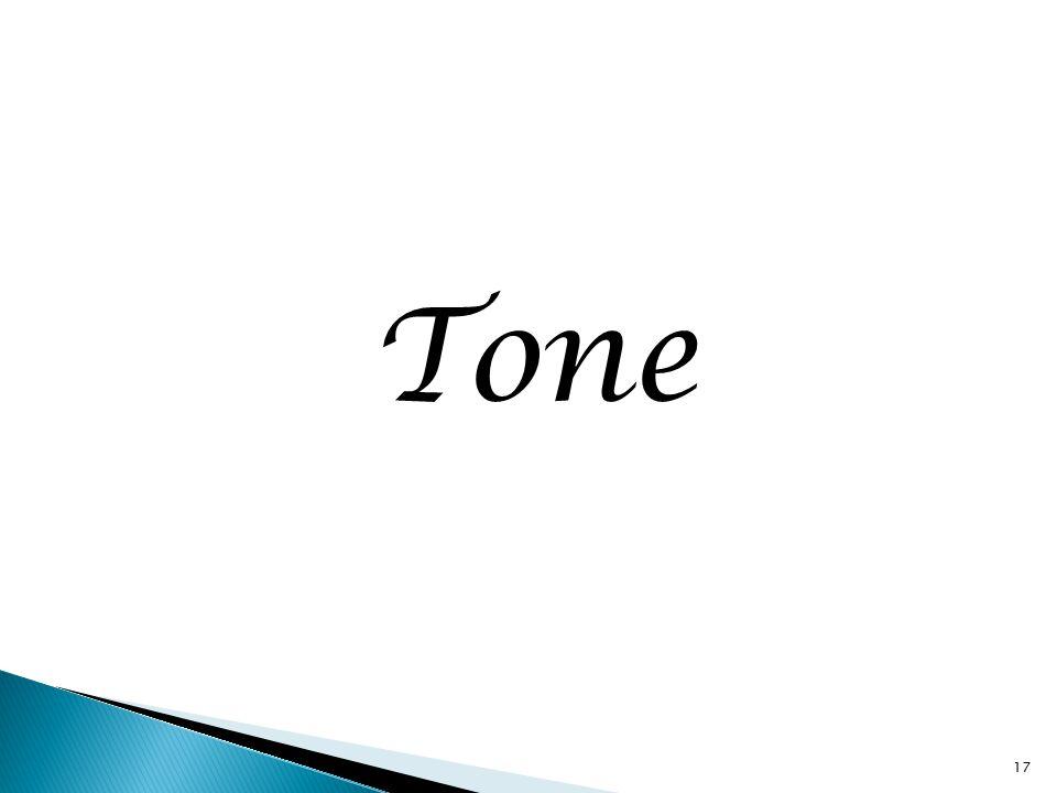 Tone 17