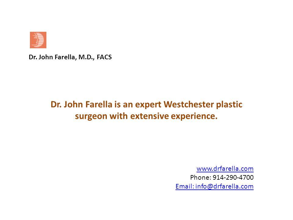 www.drfarella.com Phone: 914-290-4700 Email: info@drfarella.com Dr.