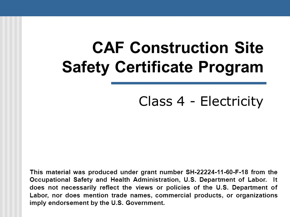 32 NFPA 70 E Goal The new standard follows the 70E-2004 version s no tolerance policy on electric shock/contact and predicted second-degree burn in arc flash exposures.
