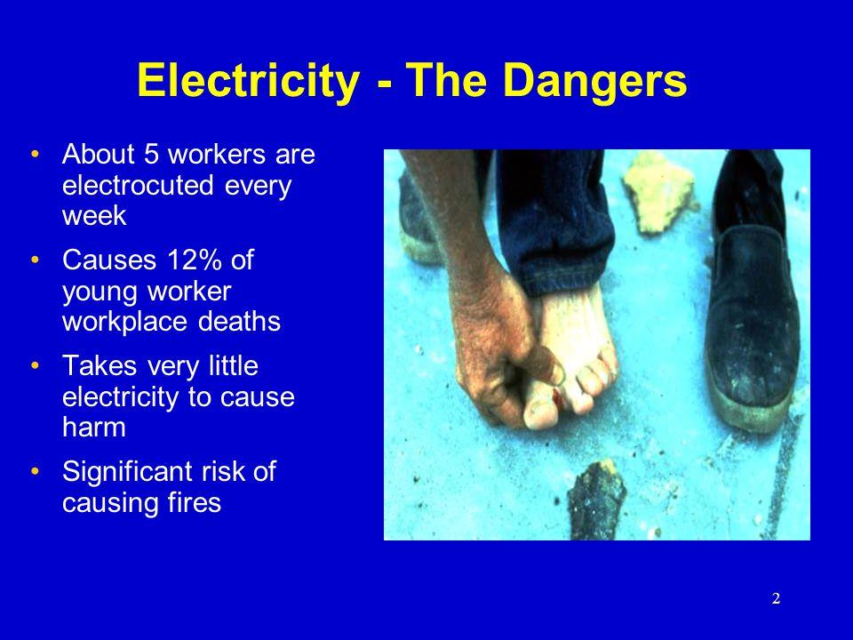 3 Dangers of Electrical Shock