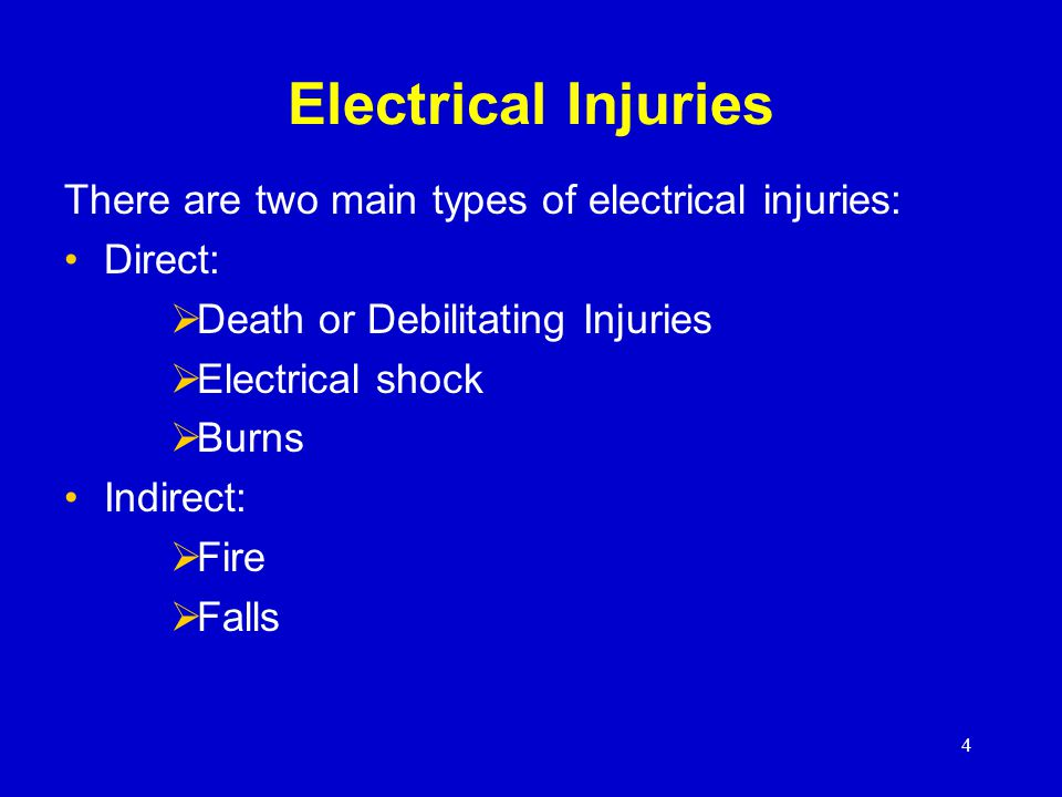 15 Control – Ground Tools & Equipment Ground power supply systems, electrical circuits, and electrical equipment Frequently inspect electrical systems to insure path to ground is continuous Inspect electrical equipment before use Don't remove ground prongs from tools or extension cords Ground exposed metal parts of equipment