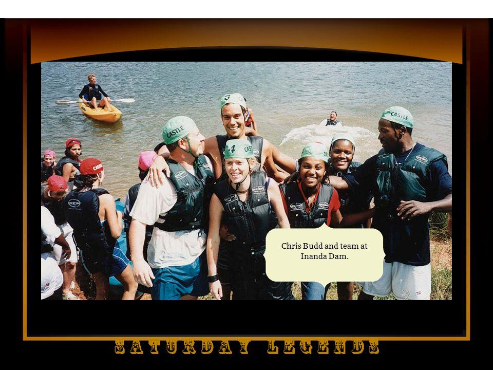 Chris Budd and team at Inanda Dam.