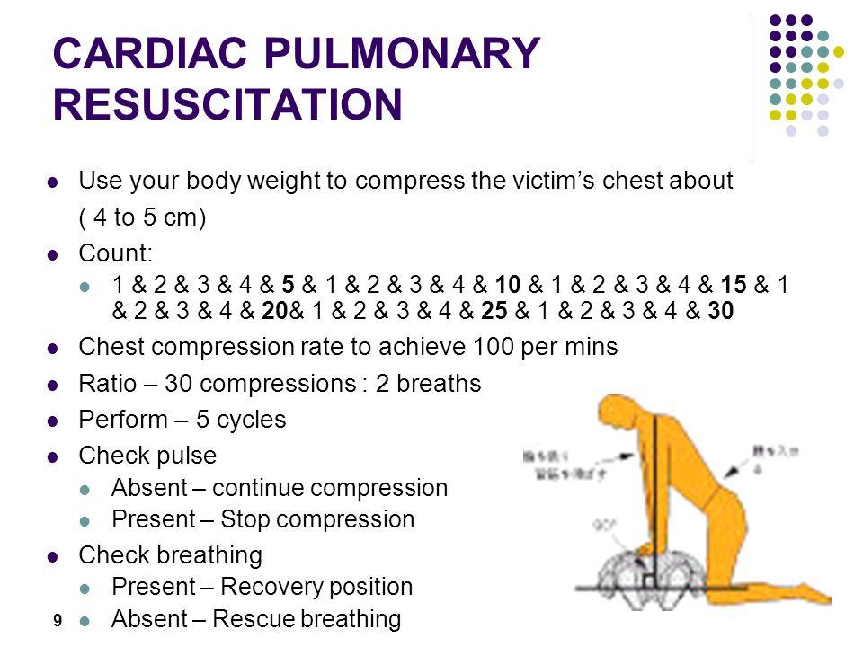 19 Infant unconscious choking When infant becomes unconscious.