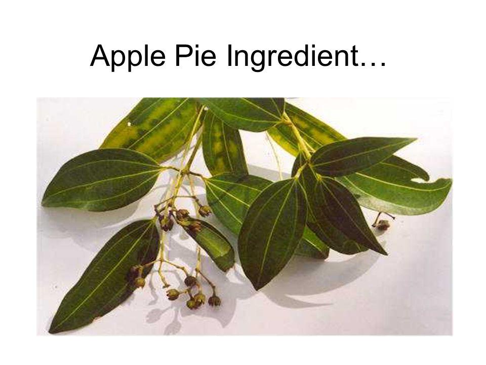 Apple Pie Ingredient…