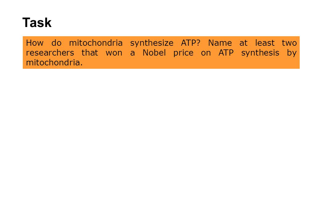 Task a) Identify the names of the genes that are encoded in mitochondrial DNA.