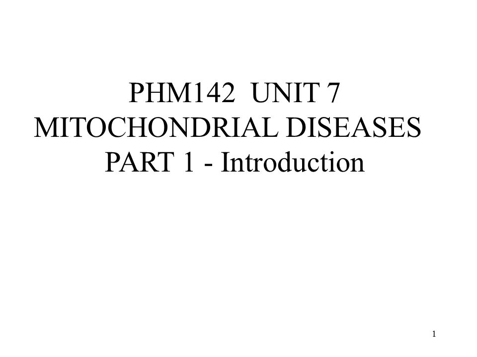 2 The mitochondrial energy- generating system
