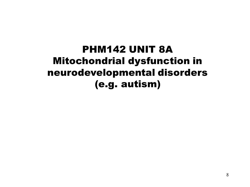 9 Of the 120 children with ASD studied by Oliveira, 2005 detailed metabolic studies including plasma lactate were performed in 69.