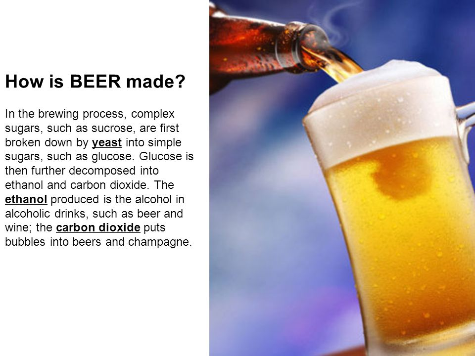 How is BEER made.