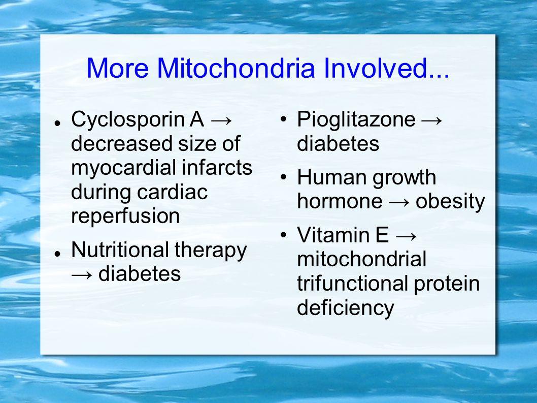 More Mitochondria Involved...