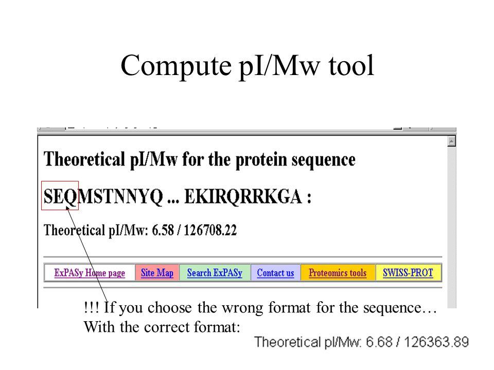 Sliding window amino acid scale- example: