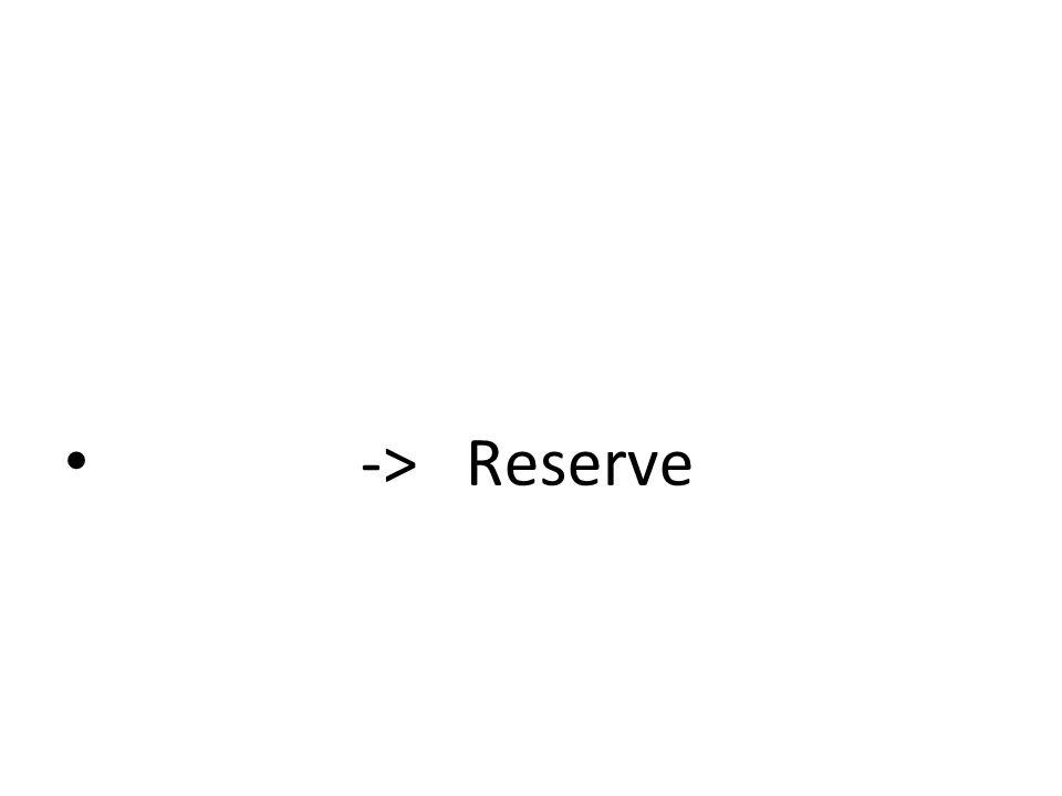 -> Reserve