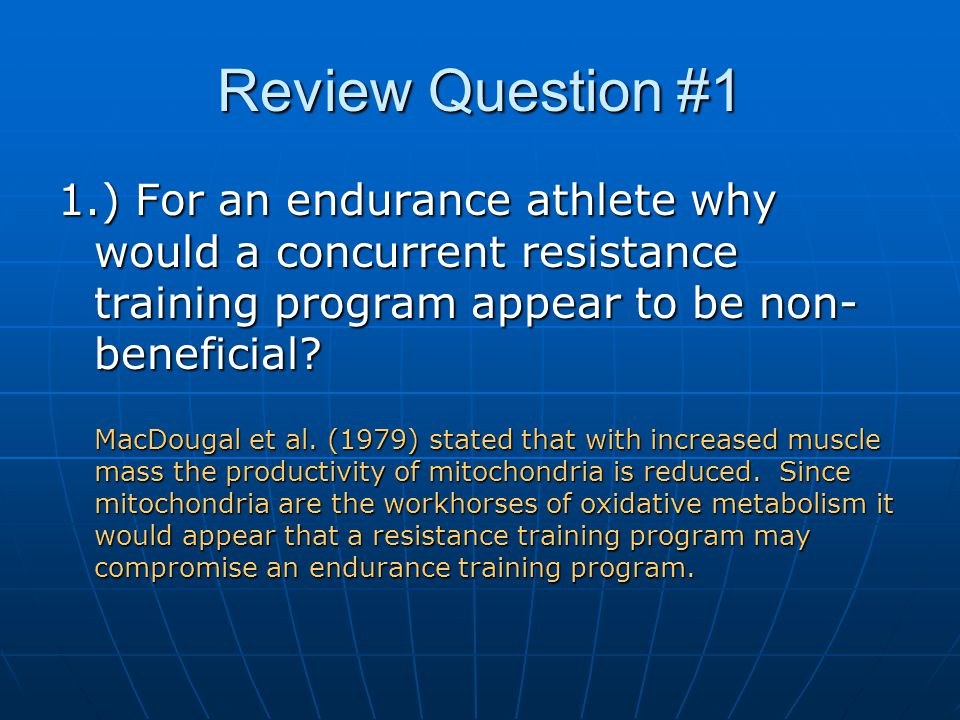 Review Question #2 2.) Hickson et al.