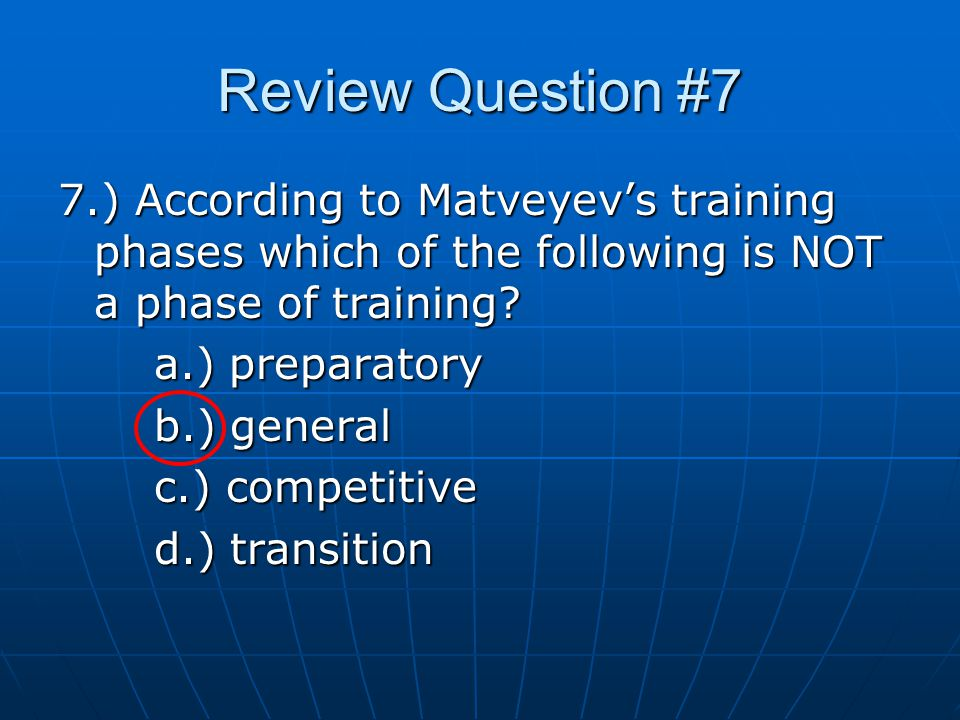 Review Question #8 8.) According to Kraemer et al.