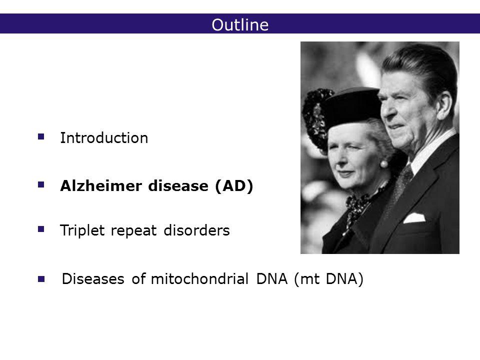 2° lic Biomedische Wetenschappen 2006 - 2007 Alzheimer disease - genetics < 1% of EOFAD caused by APP mutations, other genes ??.