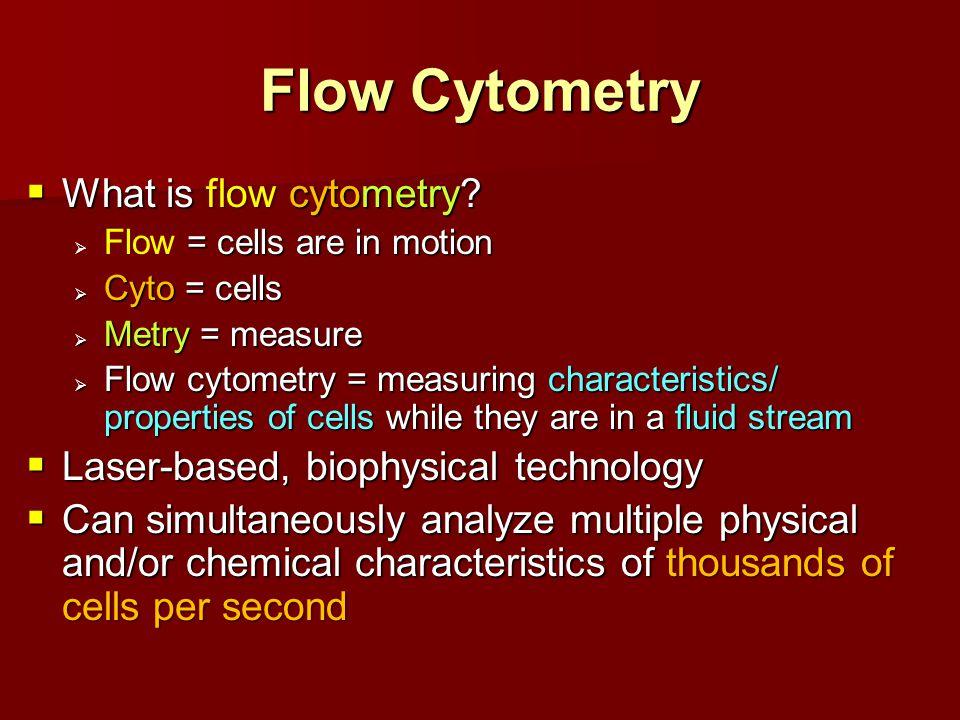 Mechanism of Flow Cytometry