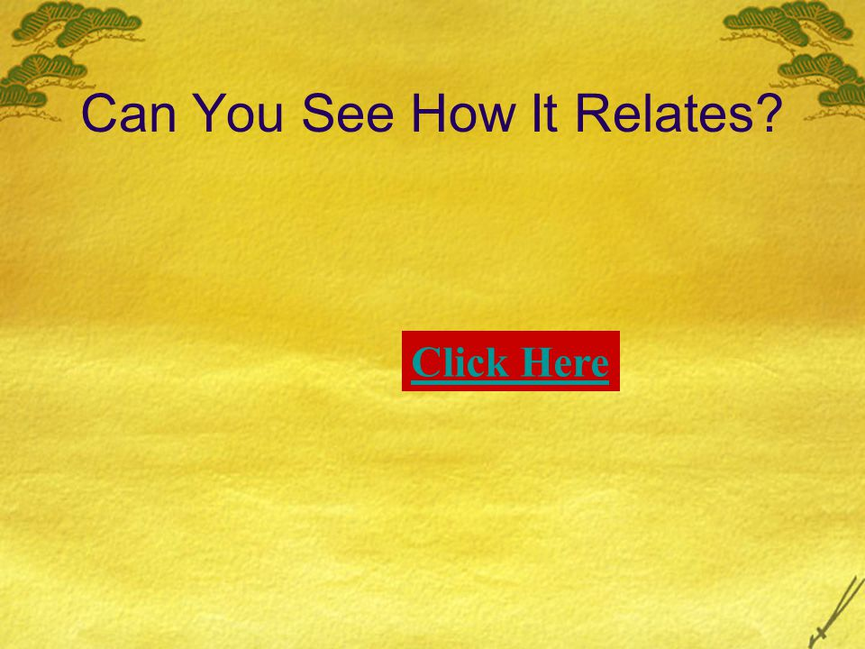 Can You See How It Relates? Click Here
