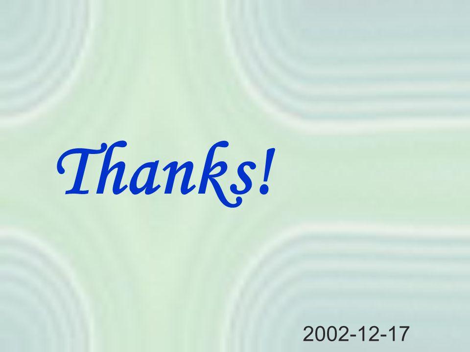 Thanks! 2002-12-17