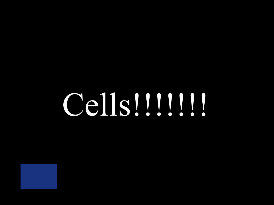 The basic unit of all living organisms… Atom Cell Molecule Element