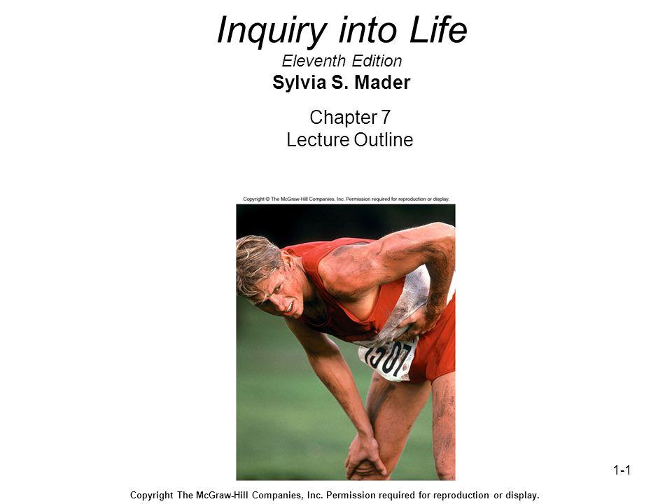 1-1 Inquiry into Life Eleventh Edition Sylvia S.