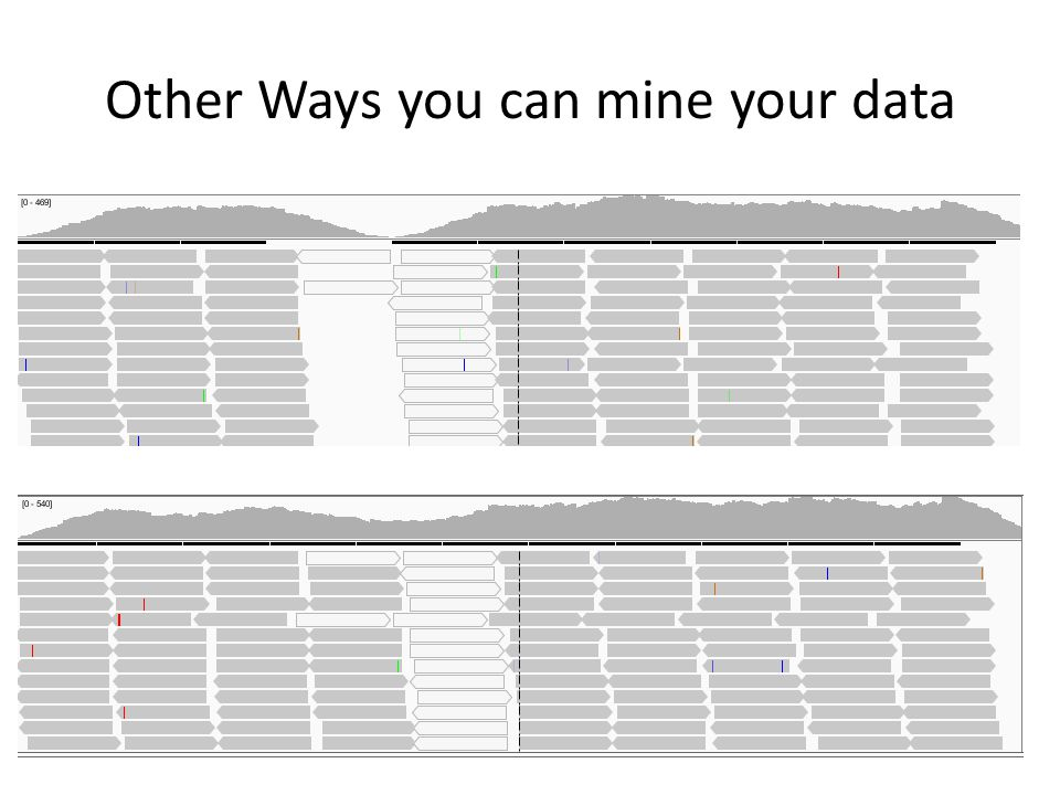Other Ways you can mine your data