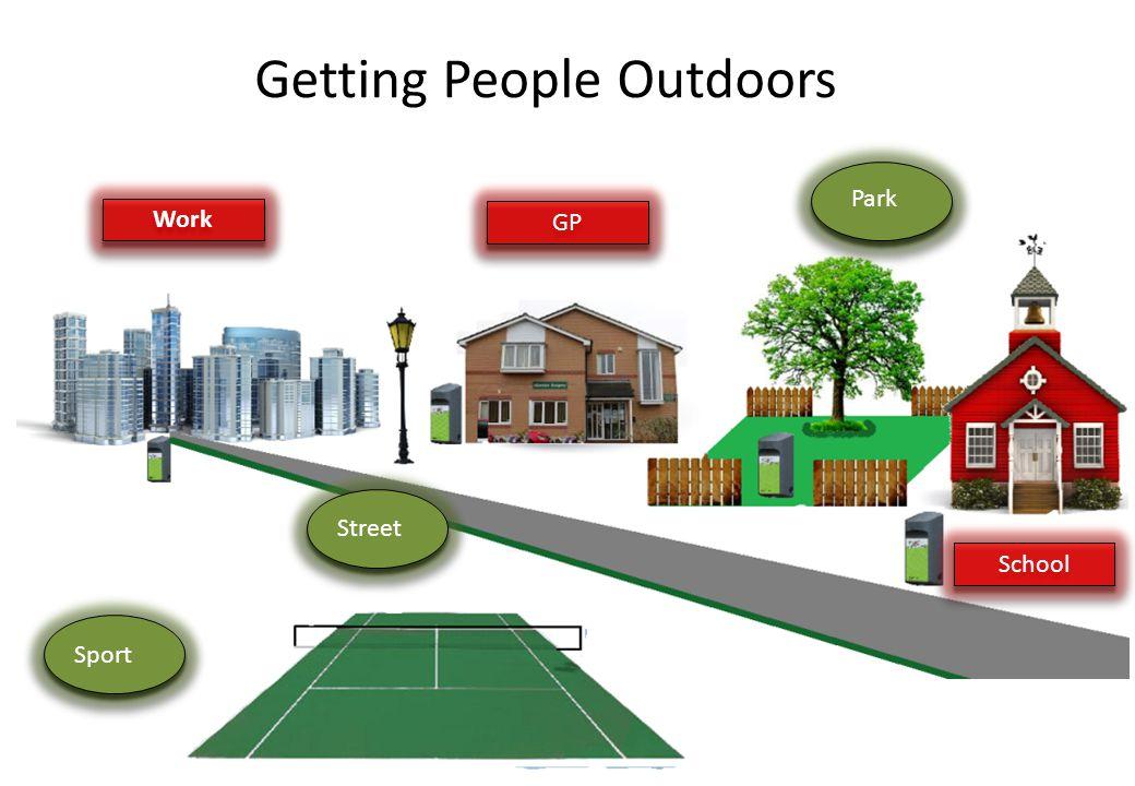 GP Park School Work StreetSport Getting People Outdoors