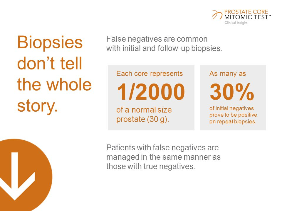 False negatives are common with initial and follow-up biopsies.