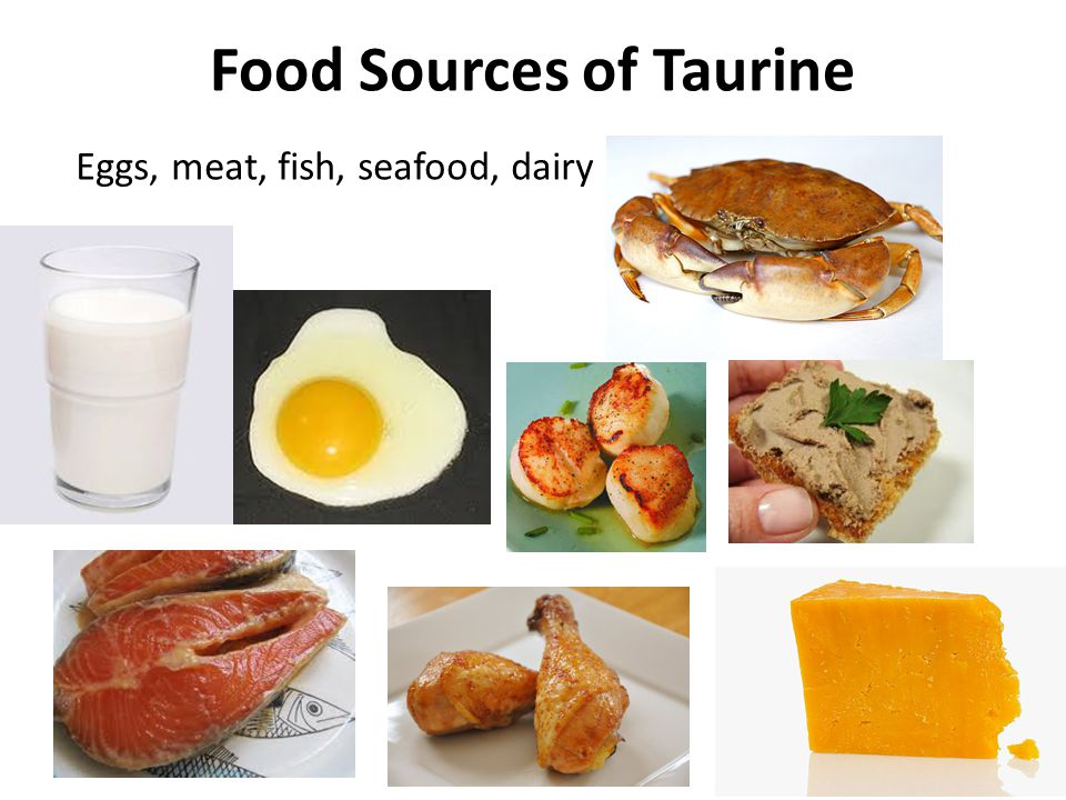 Fish Oil + Taurine* Experiment on diabetic/obese mice, three groups – Fish oil – Fish oil + taurine – Soybean oil Serum glucose levels significantly lower in mice fed fish oil (with or without taurine) Fish oil + taurine group had enhanced GLUT4 distribution in plasma membrane of muscle tissue.