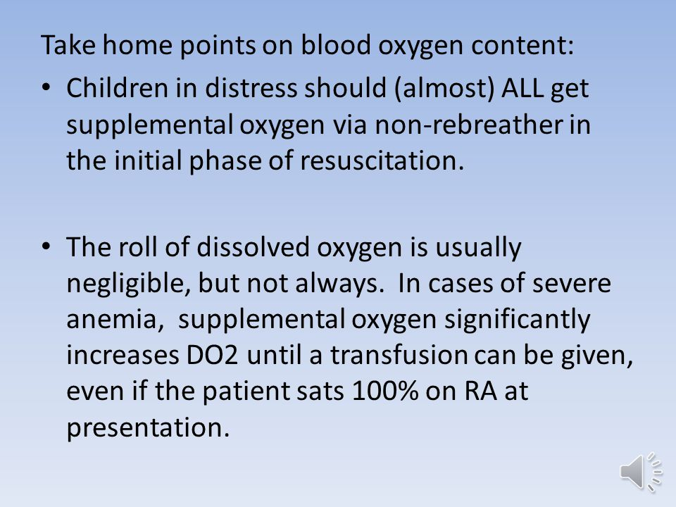 A few notes on cyanotic heart disease: Children with cyanotic lesions generally have well balanced circulation with saturations of 75%-80%.