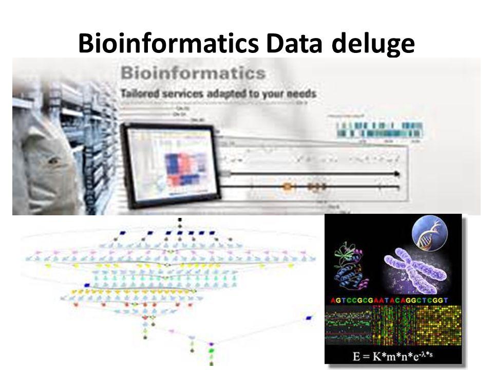 Bioinformatics Data deluge