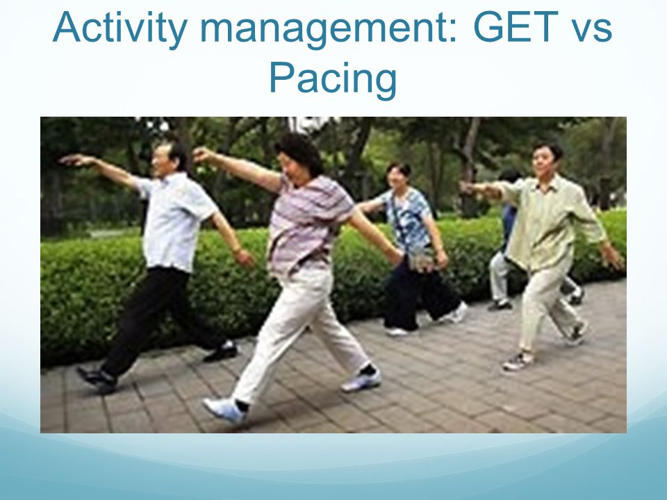 Activity management: GET vs Pacing