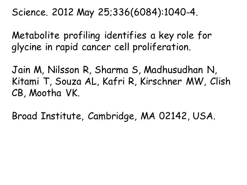 Science. 2012 May 25;336(6084):1040-4.
