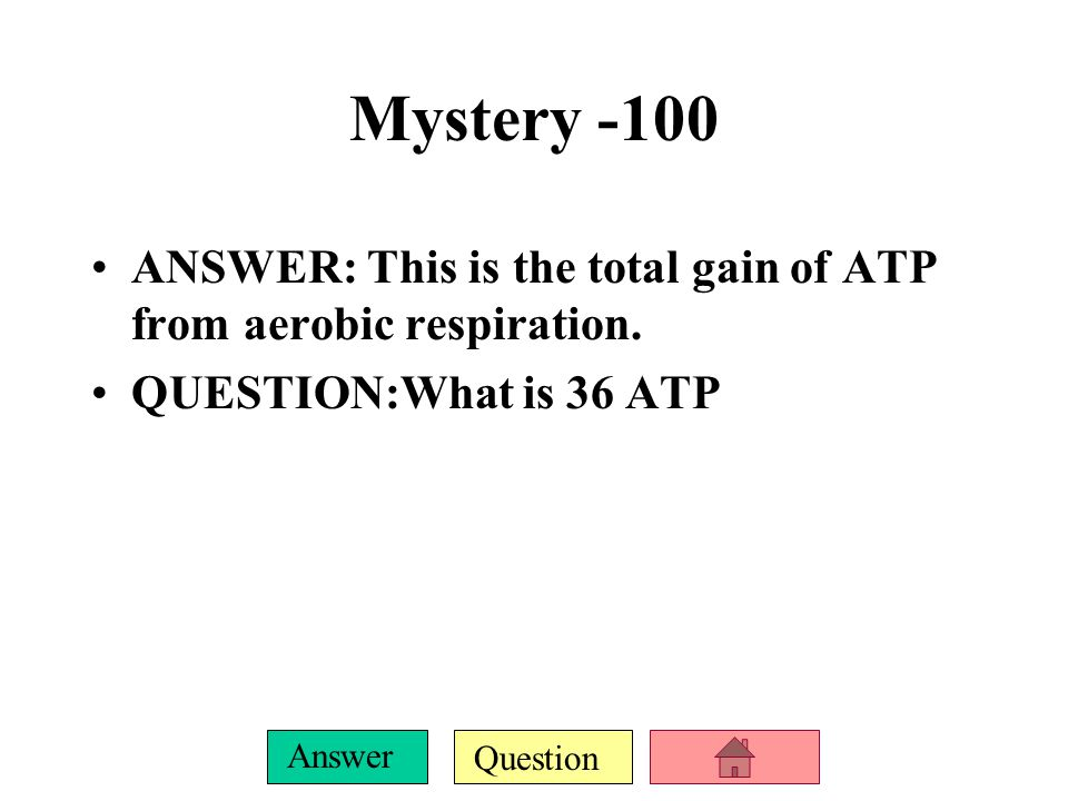 Question Answer ETC-500 ANSWER: Each NADH that is processed through the ETC creates this many ATP.