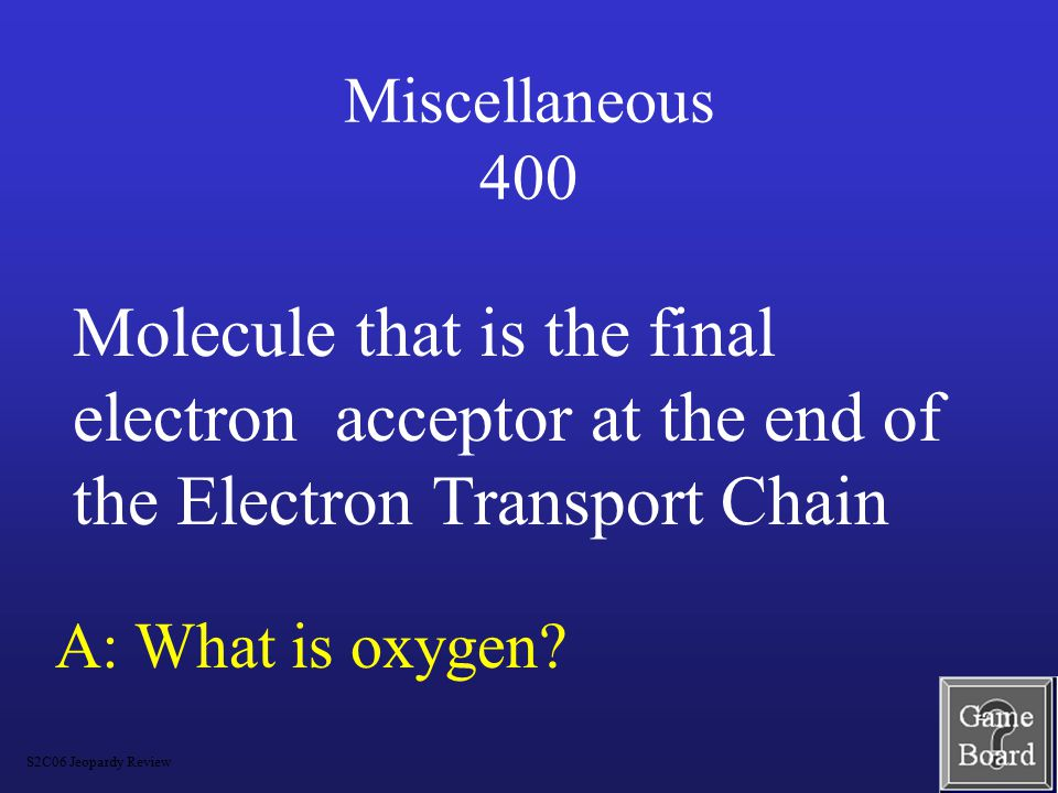 Miscellaneous 300 A: What CO 2 and released into the atmosphere.