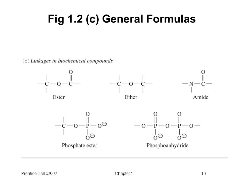 Prentice Hall c2002Chapter 113 Fig 1.2 (c) General Formulas