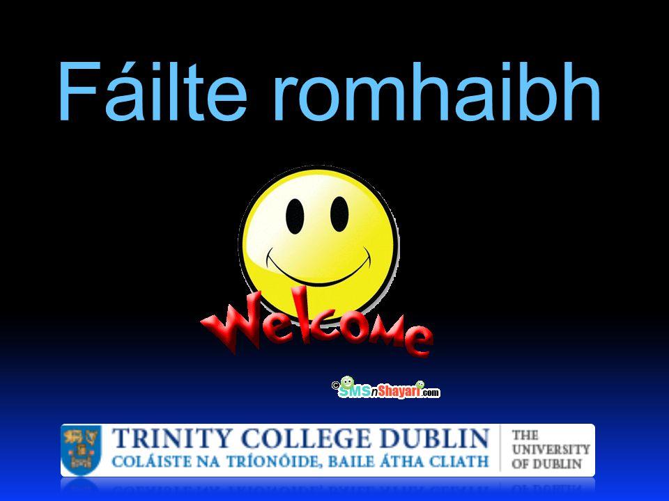 Fáilte romhaibh