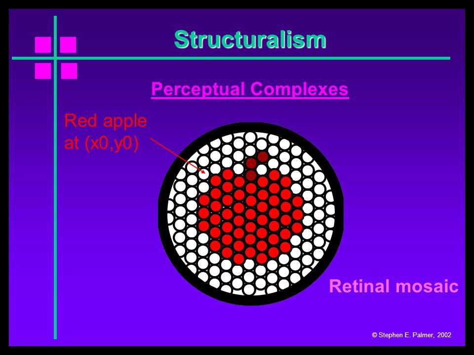 Structuralism © Stephen E.