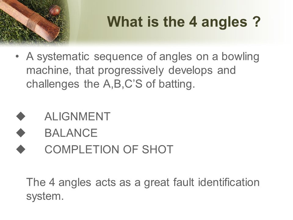 What stages to access the A,B,C'S 1.Set up & Back swing 2.