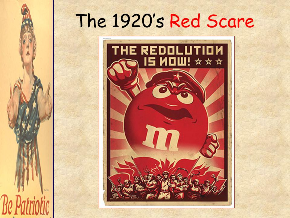 The 1920's Red Scare