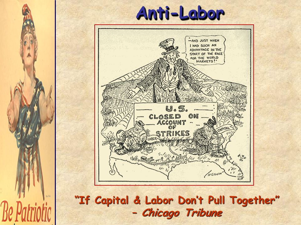 Anti-LaborAnti-Labor If Capital & Labor Don't Pull Together – Chicago Tribune